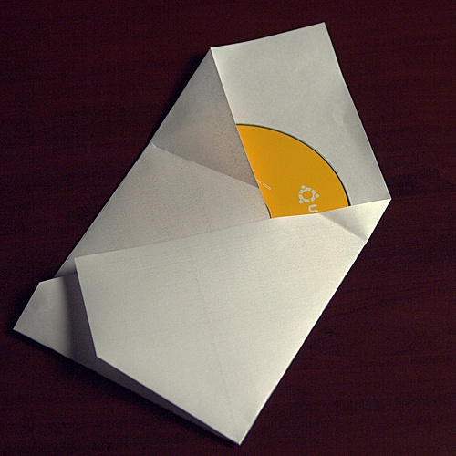 ORIGAMI CD SLEEVE « EMBROIDERY & ORIGAMI - photo#22