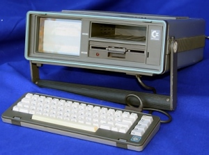 A Commodore c64sx. Photo (c) Erik S. Klein